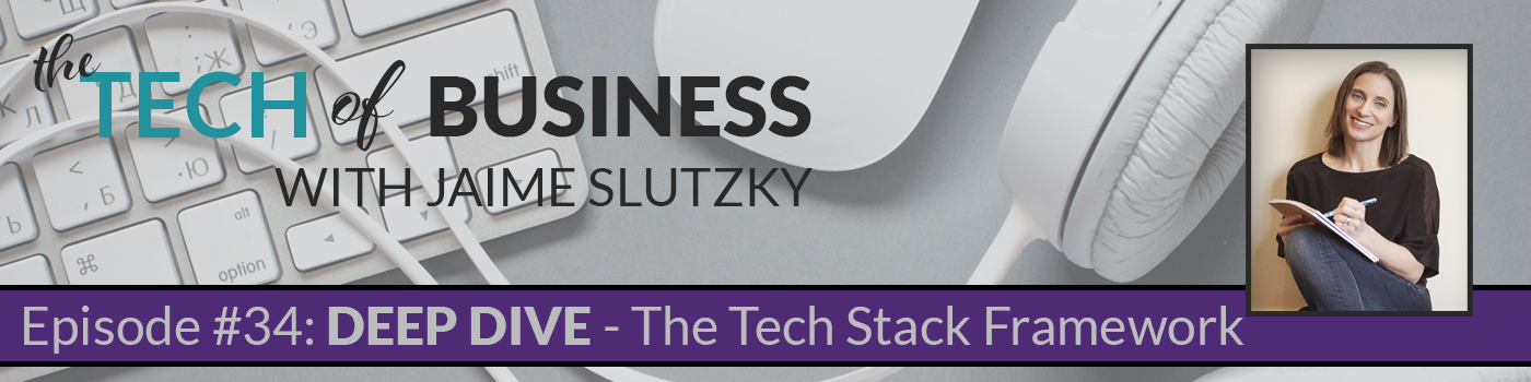 034: [Deep Dive] Tech Stack Framework