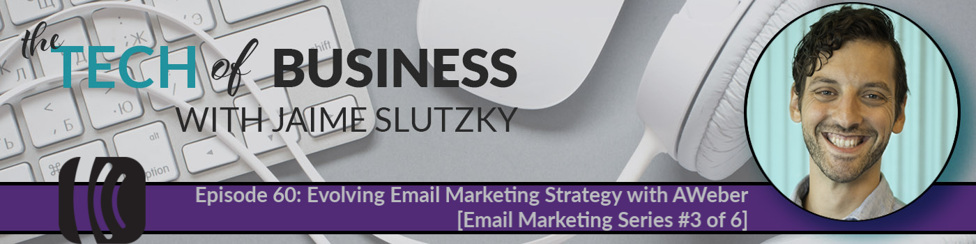 060: Evolving Email Marketing Strategy with AWeber [Email Marketing Series #3 of 6]