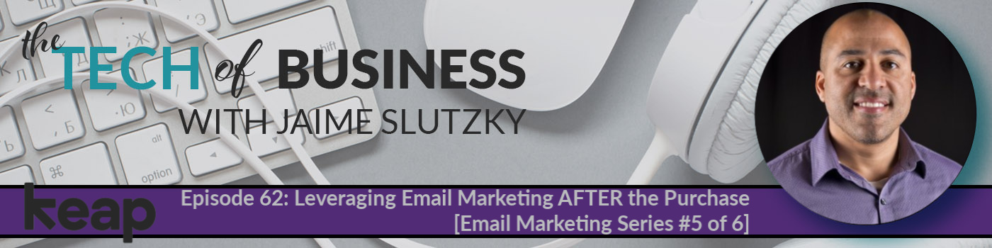 062: Leveraging Email Marketing AFTER the Purchase [Email Marketing Series #5 of 6]