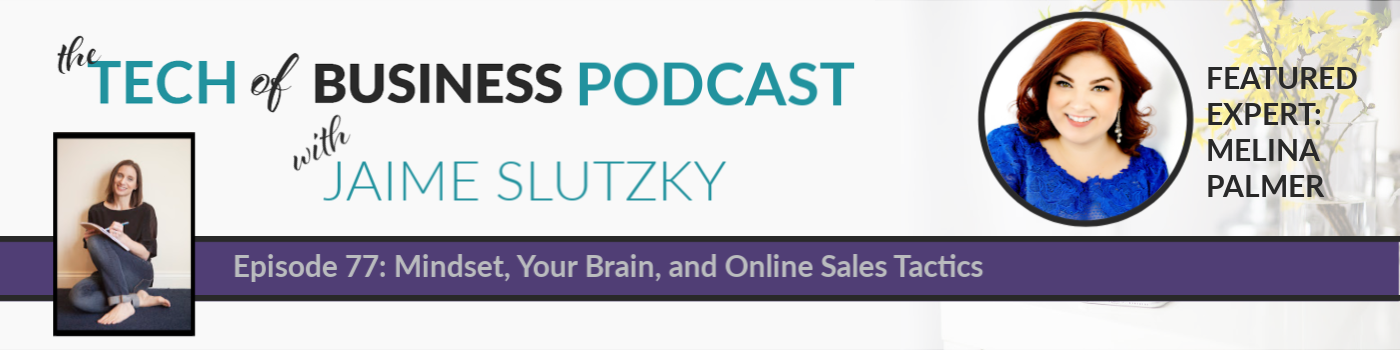077: Mindset, Your Brain, and Online Sales Tactics with Melina Palmer