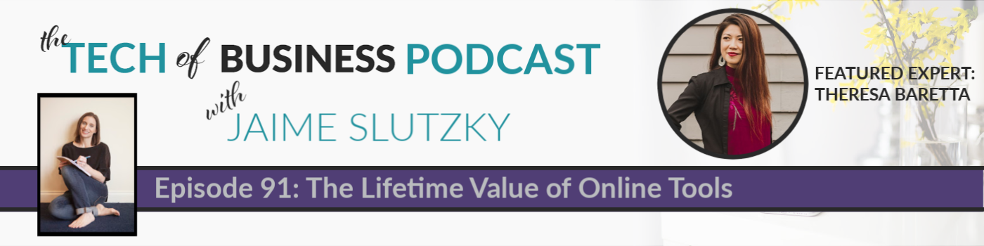 091: The Lifetime Value of Online Tools with Theresa Baretta