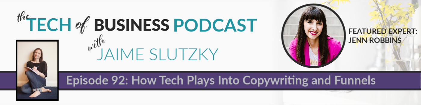 092: How Tech Plays Into Copywriting and Funnels